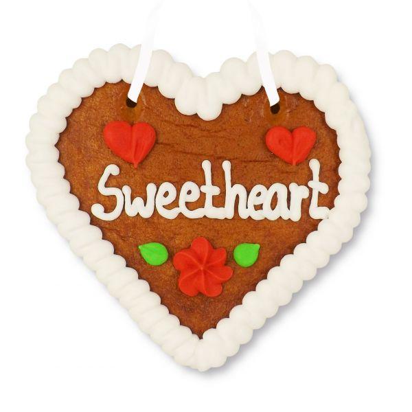 Lebkuchenherz 12cm - Sweetheart