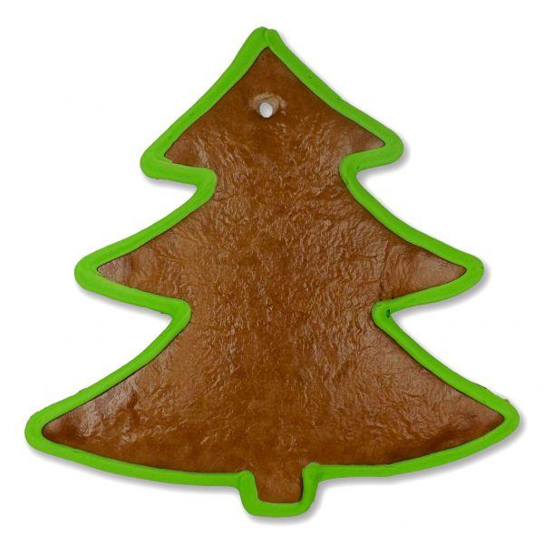 Lebkuchen Rohlinge Weihnachtsbaum - mit Rand - 22cm