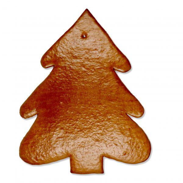 Lebkuchen Rohling Weihnachtsbaum - ohne Alles - 43cm