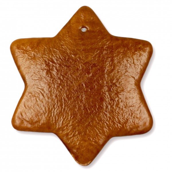 Lebkuchen Rohling Stern - ohne Alles - 25cm