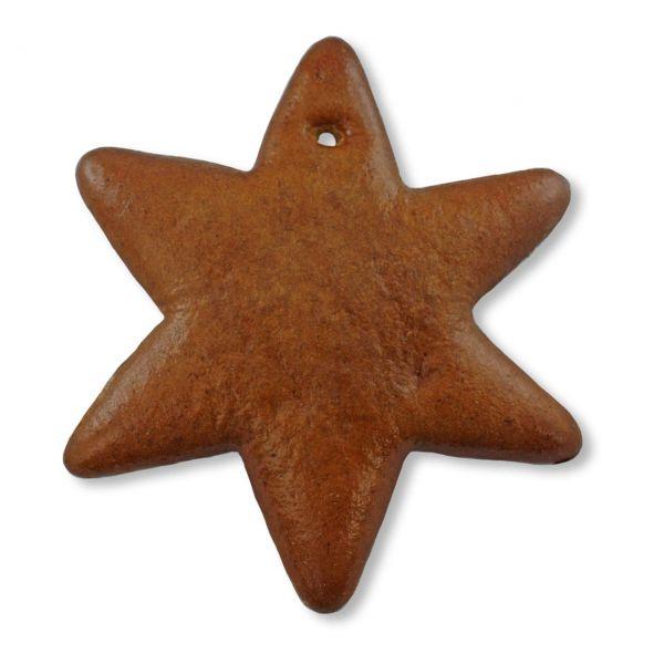 Lebkuchen Stern Rohling - ohne Alles - 12cm