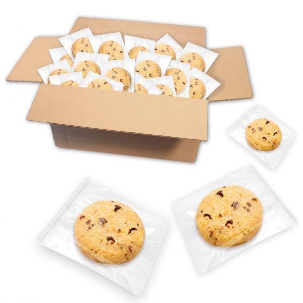 Butter Gebäck mit Schokostückchen, einzeln verpackt - ca. 130 Stk