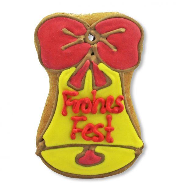 Mini Lebkuchen - Glocke - Frohes Fest - ca. 9cm