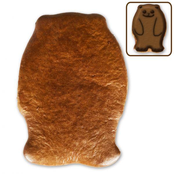 Lebkuchen Bär Rohling ohne Alles - 12cm