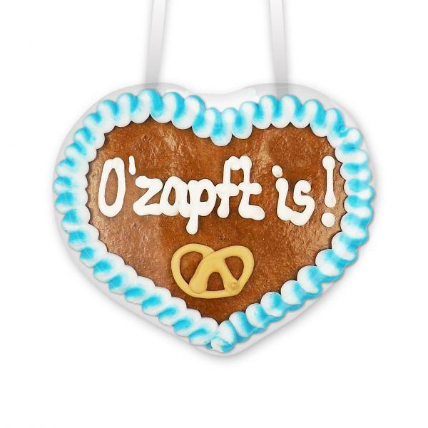 Lebkuchenherz 8cm - Ozapft is!