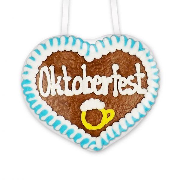 Lebkuchenherz 8cm - Oktoberfest - Design 2