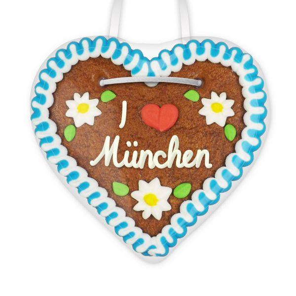 Lebkuchenherz, 12cm - I °love° München