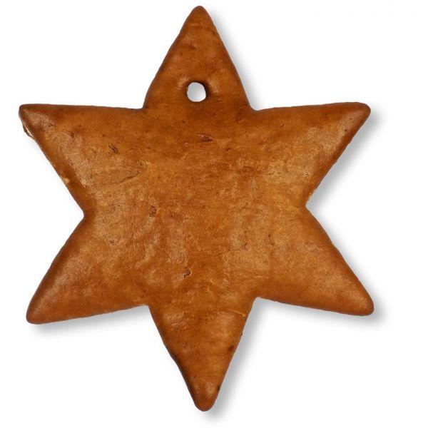 Lebkuchen Stern Rohling - ohne Alles - 15cm
