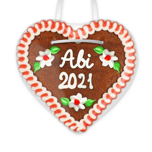 Lebkuchenherz 12cm - Abi 2021