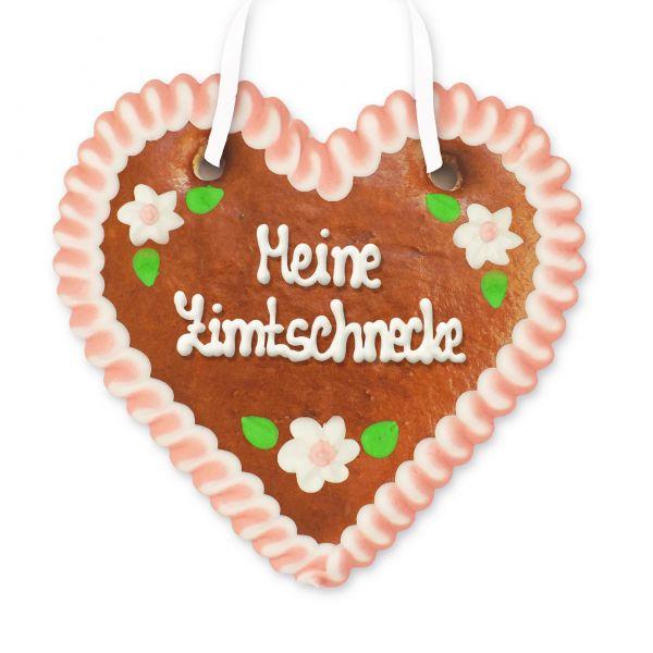 Lebkuchenherz 12cm - Meine Zimtschnecke