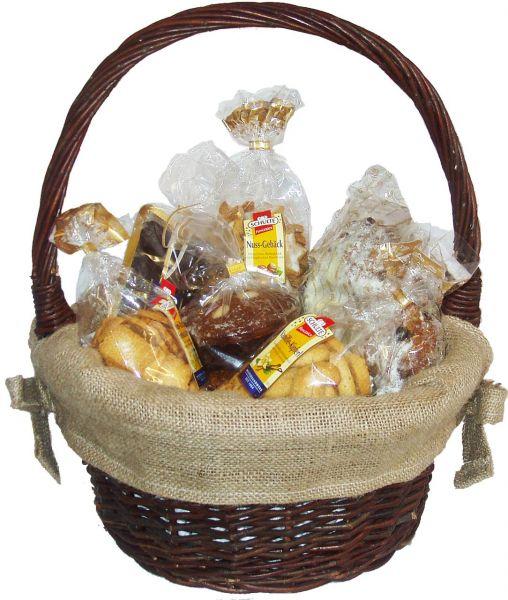 Geschenkkorb Hänsel & Gretel - Rotwein - ca. 2450g + 375ml