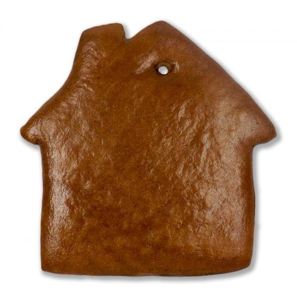 Lebkuchen Haus Rohling - ohne Alles - 12cm - mit Schornstein