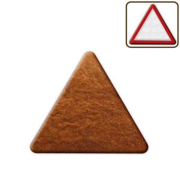 Lebkuchen Dreieck Rohling ohne Alles - 12cm