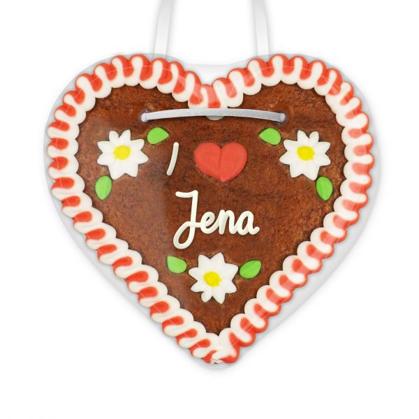 Lebkuchenherz, 12cm - I love Jena
