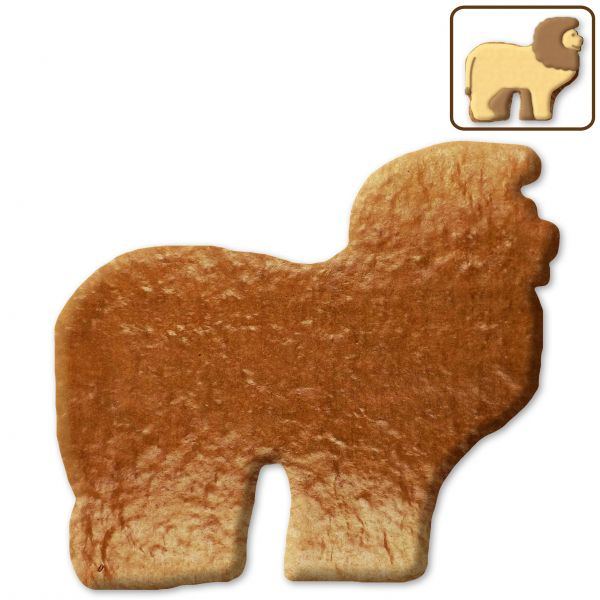 Lebkuchen Löwe Rohling ohne Alles - 12cm