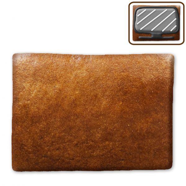 Lebkuchen Rechteck Rohling - ohne Alles - ca. 20x15,5cm