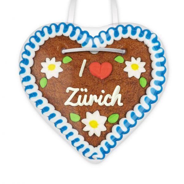 Lebkuchen Herz, 12cm - I love Zürich