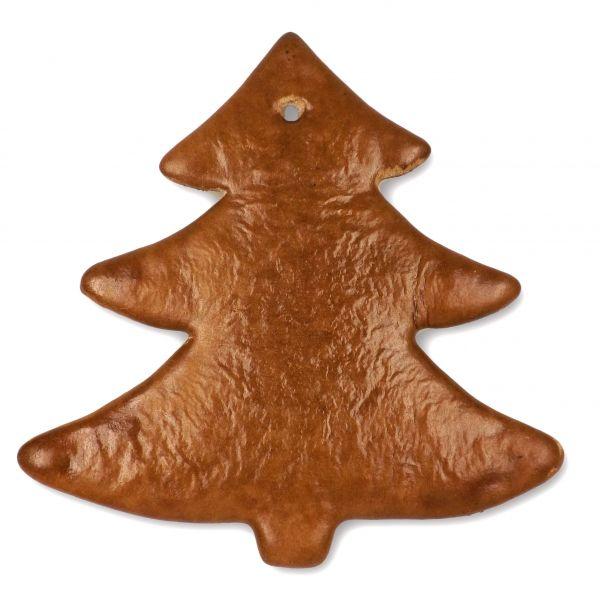 Lebkuchen Rohling Weihnachtsbaum - ohne Alles - 22cm