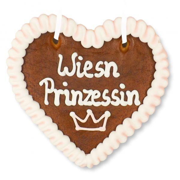 Lebkuchenherz 12cm - Wiesn Prinzessin
