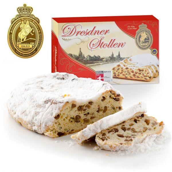 Original Dresdner Christstollen - im Geschenkkarton - 1000g
