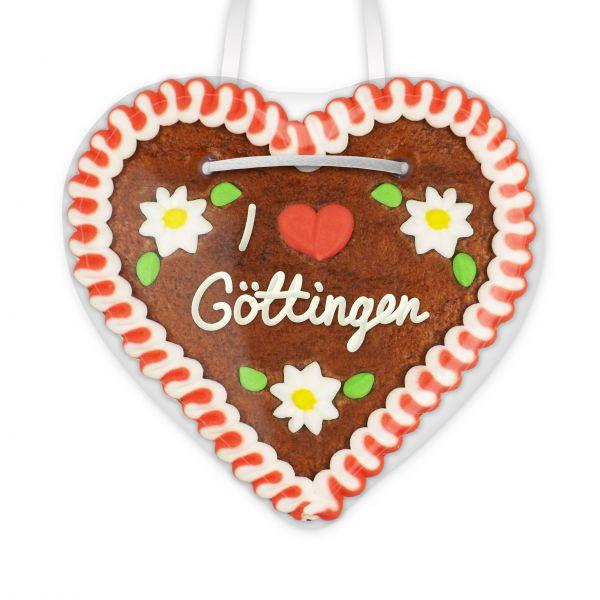 Lebkuchenherz, 12cm - I love Göttingen