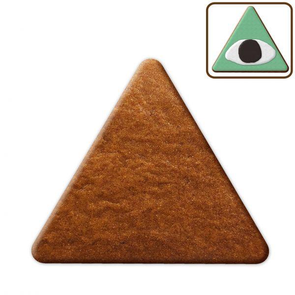 Lebkuchen Dreieck Rohling ohne Alles - 20cm