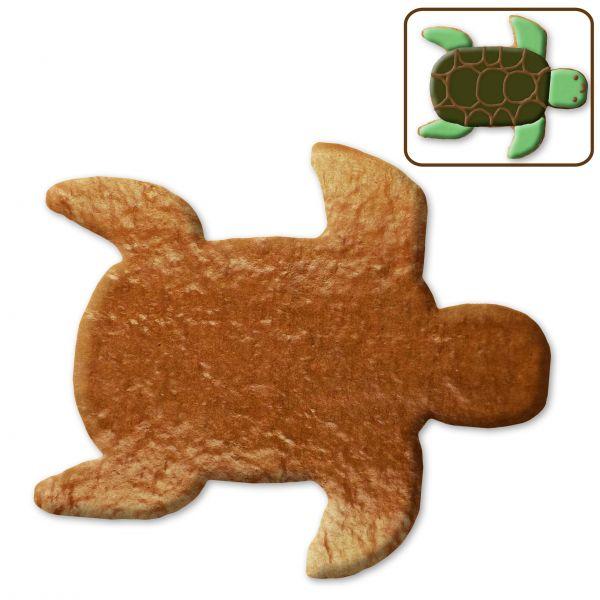 Lebkuchen Schildkröte Rohling ohne Alles - 12cm