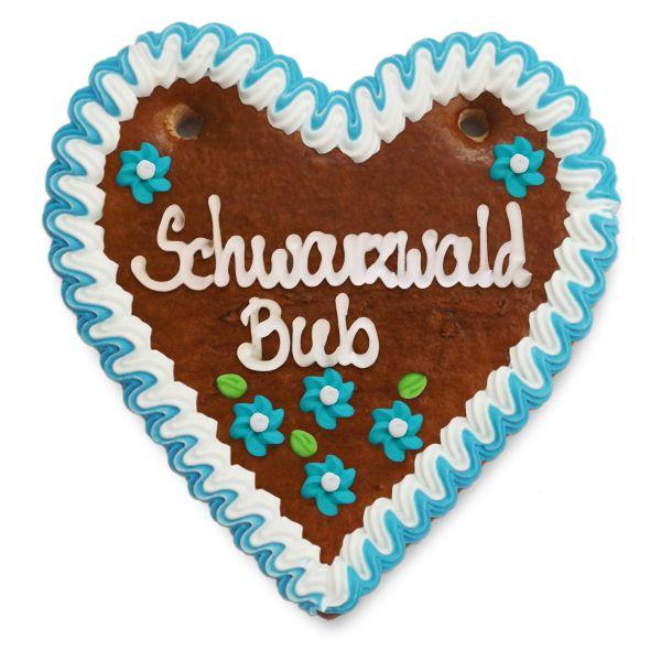 Lebkuchenherz 14cm - Schwarzwald Bub