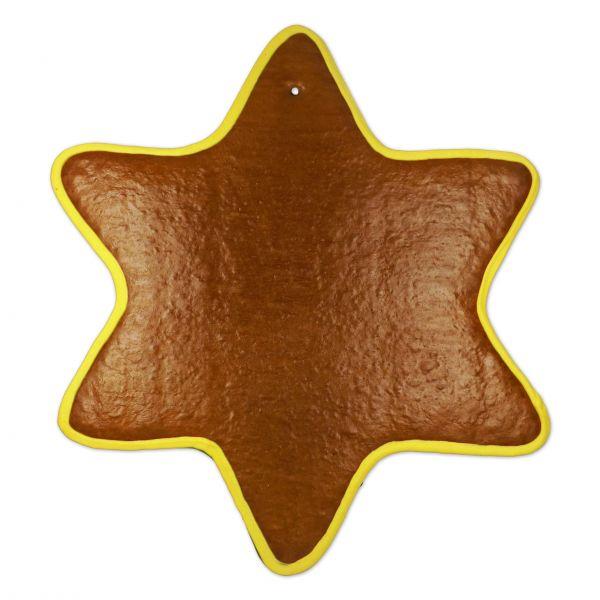 Lebkuchen Rohlinge Stern - mit Rand - 41cm