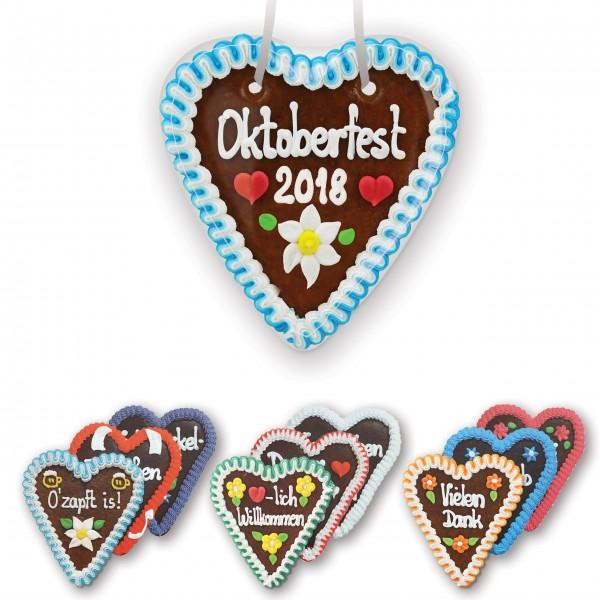 Lebkuchenherz 16cm - Frohes Fest