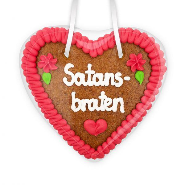 Lebkuchenherz 14cm - Satansbraten