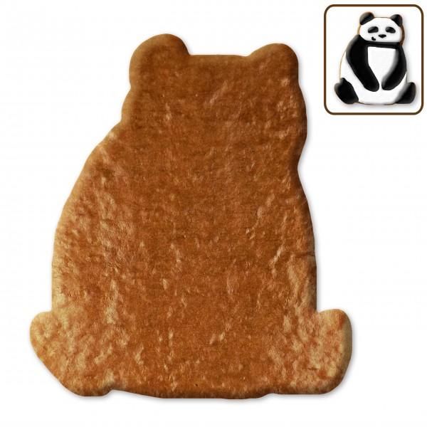 Lebkuchen Panda Rohling ohne Alles - 12cm