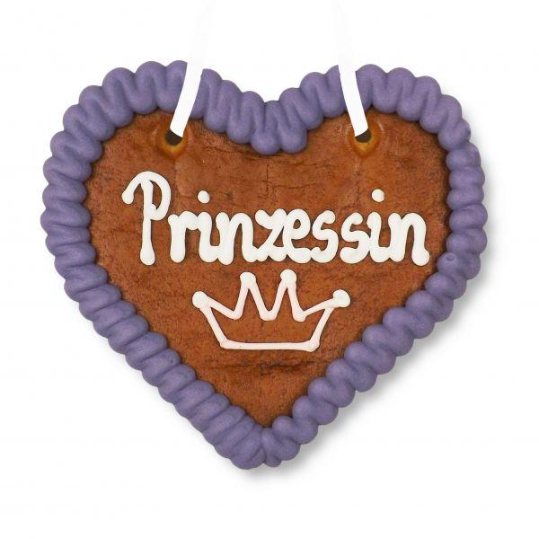Lebkuchenherz 12cm - Prinzessin