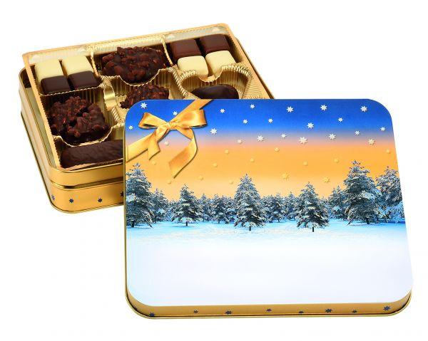 Geschenkdose Winterwald