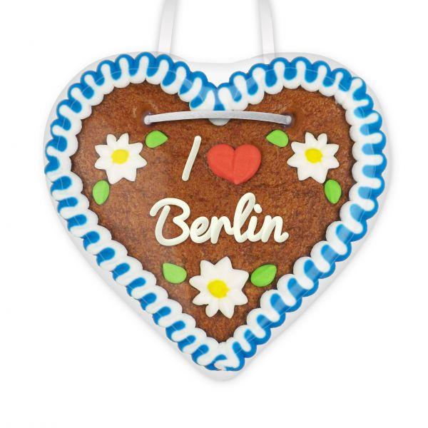 Lebkuchen Herz, 12cm - I love Berlin