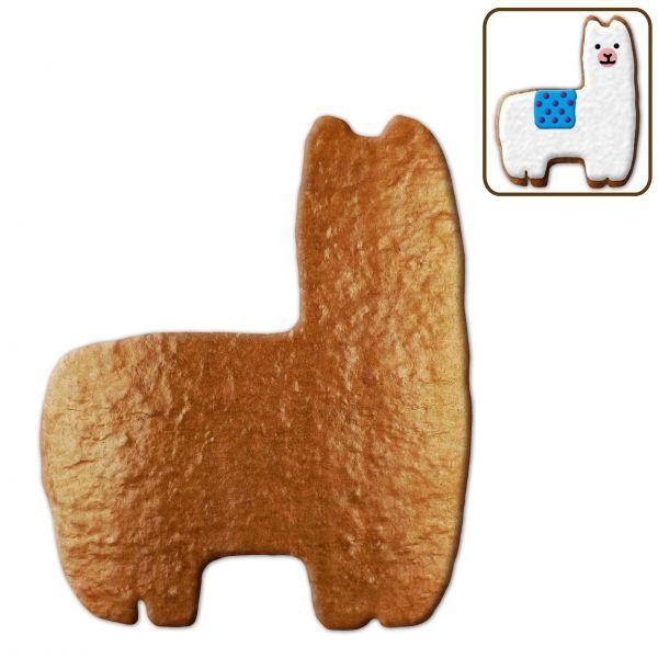 Lebkuchen Alpaka Rohling ohne Alles - 12cm