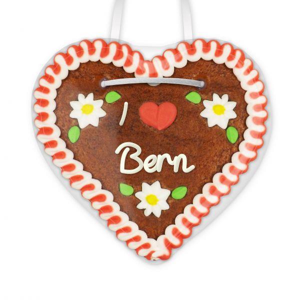 Lebkuchenherz, 12cm - I love Bern