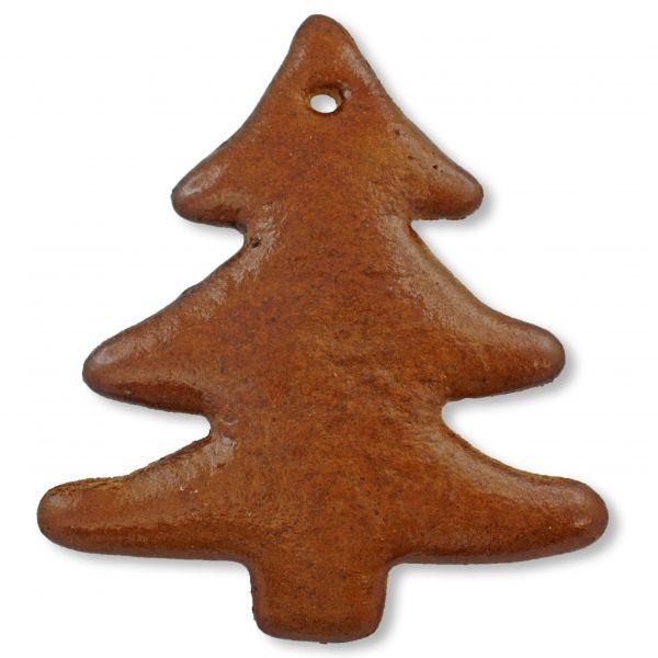 Lebkuchen Weihnachtsbaum Rohling - ohne Alles - 12cm - spitz