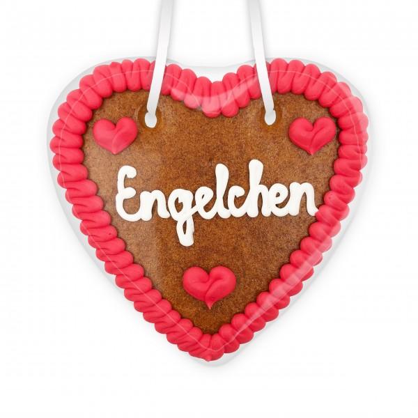 Lebkuchenherz 14cm - Engelchen