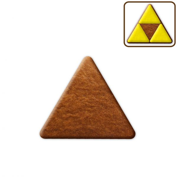 Lebkuchen Dreieck Rohling ohne Alles - 8cm