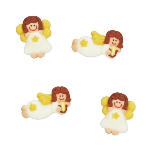 Zuckerfiguren - Engel - 48 Stück sortiert