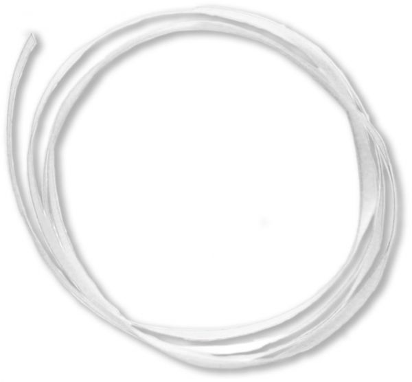 Umhängeband - weiß - 20m