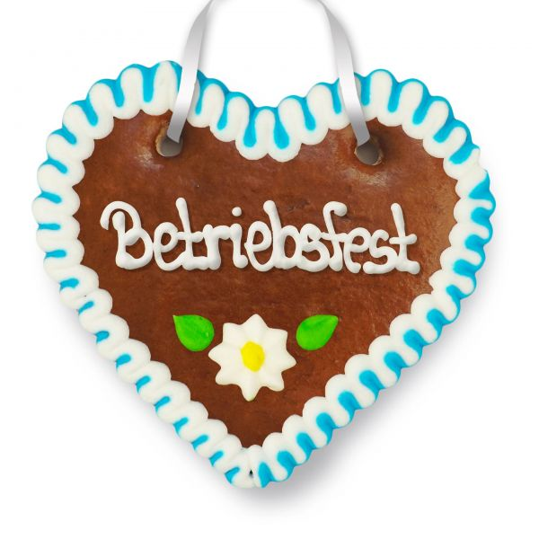 Lebkuchenherz 12cm - Betriebsfest