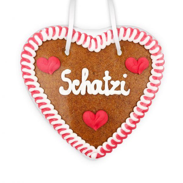 Lebkuchenherz 14cm - Schatzi