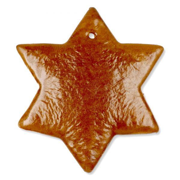 Lebkuchen Rohling Stern - ohne Alles - 20cm