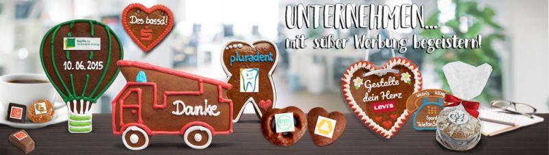 Lebkuchen Werbegeschenke online Gestalten