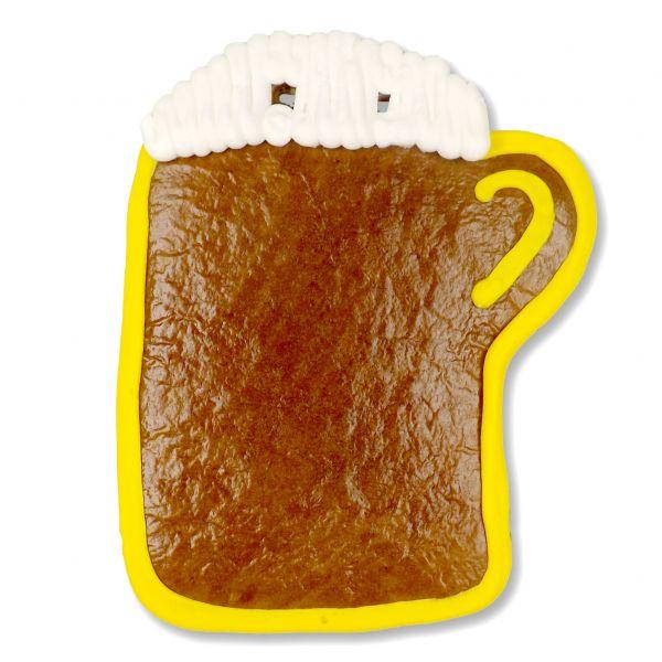 Lebkuchen Rohlinge Bierkrug - mit Rand - 18cm