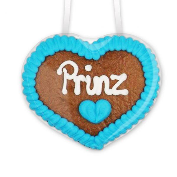 Lebkuchenherz 8cm - Prinz