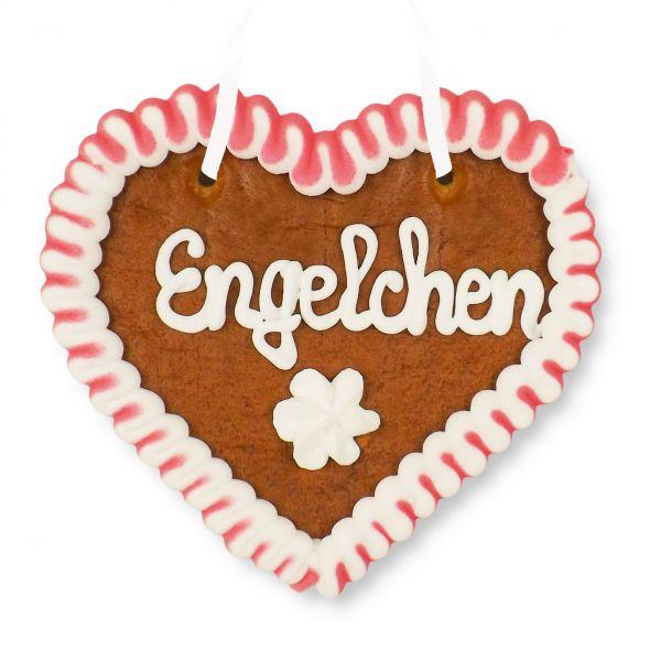 Lebkuchenherz 12cm - Engelchen
