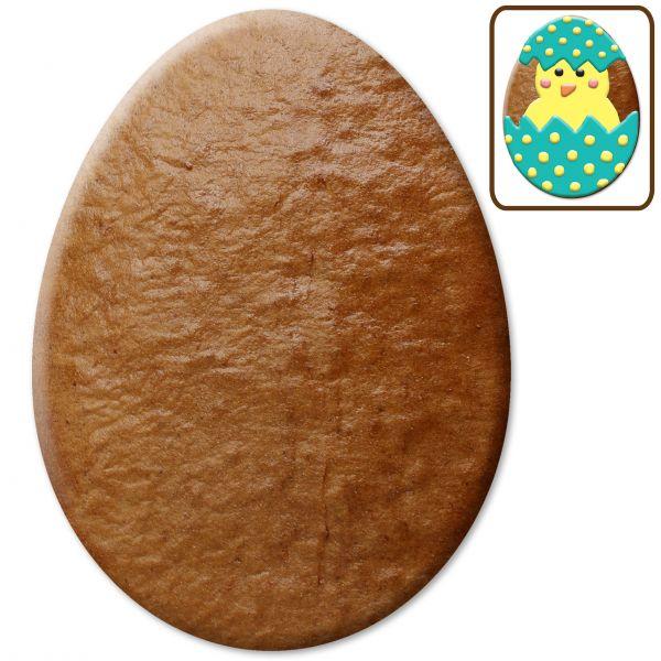 Lebkuchen Osterei Rohling ohne Alles - 50cm